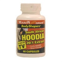 Hoodia Gordonii 20:1 Extract Nutritional Supplement Capsules - 60 Ea