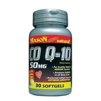 Mason Natural CO Q-10 50 Mg Softgels - 30 Ea