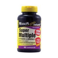 Mason Natural Super Multiple Iron Free Capsules - 60 Ea