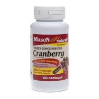 Mason Highly Concentrated Cranberry Capsules, #1476 - 60 Ea
