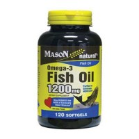Mason Natural Omega-3 Fish Oil 1200 Mg Softgels - 120 Ea