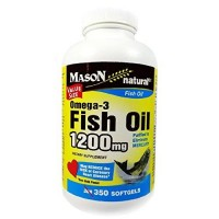Mason fish oil 1200mg omega - 350 ea