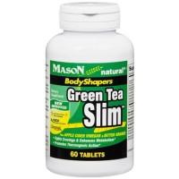 Mason Natural Green Tea Slim Body Shapers Tablets - 60 Ea