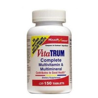 Mason Natural VitaTrum Complete Multivitamin And Multimineral - 150 Tablets