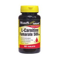 Mason Natural L-Carnitine Fomarate 500 Mg Fitness Nutrition Tablets - 60 Ea