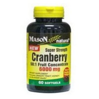 Mason Natural Cranberry Super Strength Softgels - 60 Ea