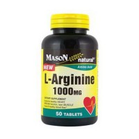 Mason Natural L-Arginine 1000 Mg Amino Acid Tablets - 50 Ea