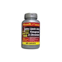 Mason Naturals Alpha Lipoic Acid, Fenugreek And Chromium - 60 Tablets