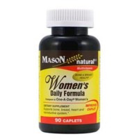 Mason Natural Womens Daily Formula Compare To One-A-Day Womens Caplets - 90 Ea