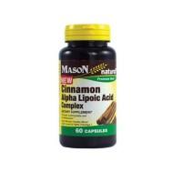 Mason Natural Cinnamon Alpha Lipoic Acid Complex Capsules - 60 Ea