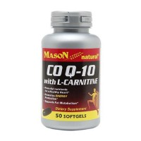 Mason Natural CO Q-10 With L-Carnitine Softgels - 50 Ea