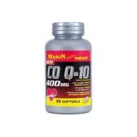 Mason Naturals CO Q-10 400 Mg Softgels For A Healthy Heart - 30 Ea