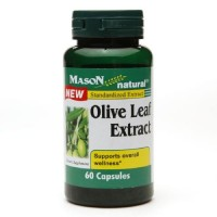Mason Natural Olive Leaf Standardized Extract Capsules - 60 Ea