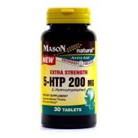 Mason Natural 5-HTP L-Hydroxytryptophan 200 Mg - 30 Tablets