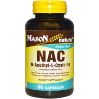 Mason natural NAC dietary supplement capsules, amino acid - 60 ea