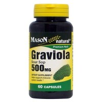 Mason Natural Graviola Sour Sop 500 Mg Capsules - 60 Ea