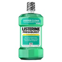Listerine antiseptic mouthwash freshburst - 4 ea