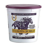 Farnam Co Horse Health vita biotin crumble supplement for horse hooves - 2.5 pound, 4 ea