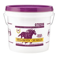 Farnam Co Horse Health vita biotin crumble supplement for horse hooves - 20 pound, 1 ea
