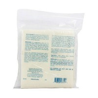 Home health wool flannel large, 100% white wool - 1 Cloth