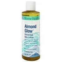 Home Health almond glow skin lotion Unscented - 8 oz