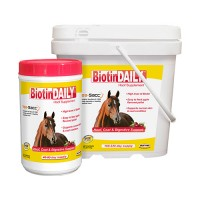 Durvet/Equine D biotin daily hoof supplement for horses - 2.5 pound, 4 ea