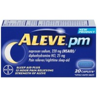 Aleve pm pain reliever nighttime sleep aid - 20 ct