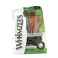 Wellpet Llc whimzees brushzees - medium/12 pc, 6 ea