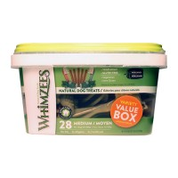 Wellpet Llc whimzees natural variety value pack - 29.6 oz/medium, 4 ea