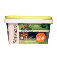 Wellpet Llc whimzees natural variety value pack - 29.6 oz/large, 4 ea