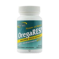 North American Herb and Spice Orega Resp Vegetarian Capsules - 30 ea
