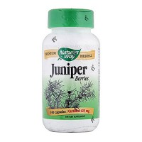 Natures Way Premium Herbal Juniper Berries 425 mg Capsules - 100 ea