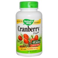 Natures way cranberry fruit vegetarian vcaps - 180 ea