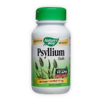 Natures Way Psyllium Husks Herbal Laxative 525 mg Capsules - 100 ea