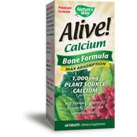 Natures way alive calcium bone formula tablets - 60 ea