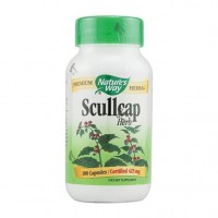 Natures way scullcap herb capsules, 425 mg - 100 ea
