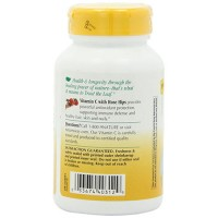 Natures Way Vitamin C-1000 With Rose Hips Antioxidant Capsules, 100 ea