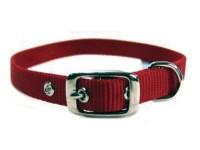 Hamilton Pet Company single thick nylon dog collar - 5/8 x 18 in, 12 ea