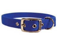 Hamilton Pet Company double thick nylon dog collar - 1x28 in, 12 ea
