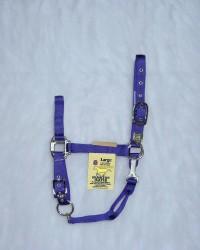 Hamilton Halter Company adjustable chin horse halter with snap - large, 6 ea
