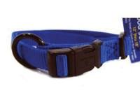 Hamilton Pet Company adjustable dog collar - 5/8 x 12-18 in, 12 ea