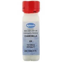 Hylands homeopathic Chamomilla 6X teething and irritability tablets - 250 ea