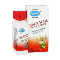 Hylands Homeopathic Backache with arnica tablets - 100 ea