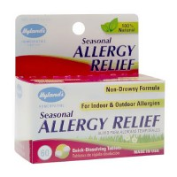 Hylands Homeopathic Combination Seasonal Allergy Relief - 60 Ea