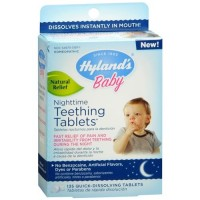 Hylands Homeopathic Baby Nighttime Teething Tablets - 135 ea