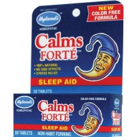 Hylands homeopathic calms forte sleep aid tablets  -  50 Ea