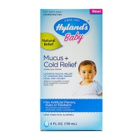 Hyland's baby mucus and cold relief - 4 oz