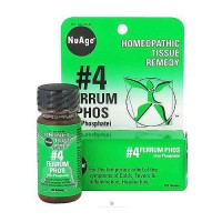 Hylands NuAge #4 ferrum phos homeopathic tissue remedy 6X tablets - 125 ea