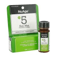 NuAge Kali Mur Potassium Chloride Homeopathic Tissue Remedy Tablets - 125 ea