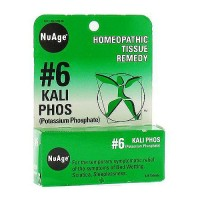 Hylands NuAge #6 Kali Phos homeopathic tissue remedy tablets - 125 ea